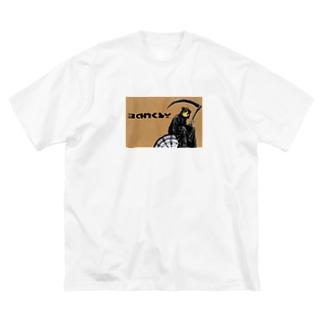 バンクT Big silhouette T-shirts