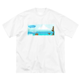 Batu Bolong Big silhouette T-shirts
