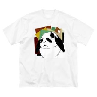 ティーちゃん Big silhouette T-shirts