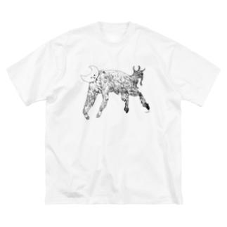 占星術師 Big silhouette T-shirts