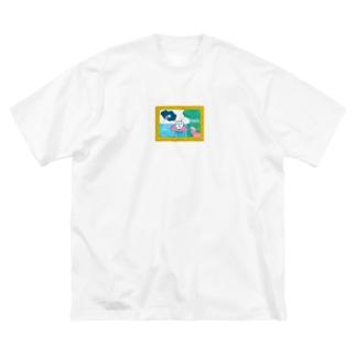 ぷりヴィーナチュ誕生 Big silhouette T-shirts