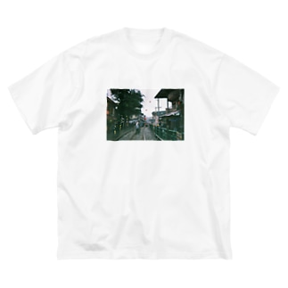 台湾・十份 Big silhouette T-shirts