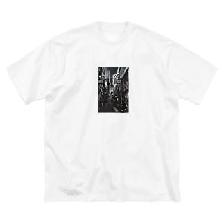 MASSAMAN&Co.のとうきょう Big silhouette T-shirts