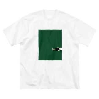 脱力 Big silhouette T-shirts