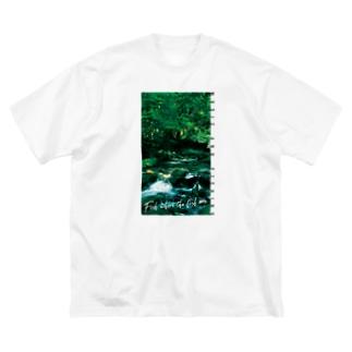 Fishing Spot T shirts Trout Big silhouette T-shirts