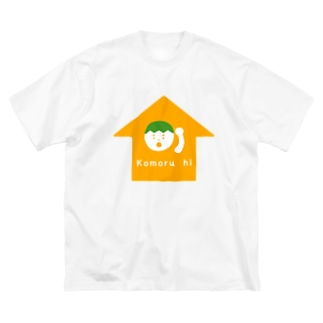 Komoru hi (籠る日) Big silhouette T-shirts
