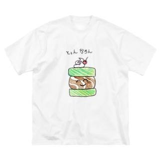 ニコニコとぅんかろん Big Silhouette T-Shirt