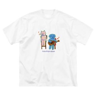 cafeweek2009 Big silhouette T-shirts