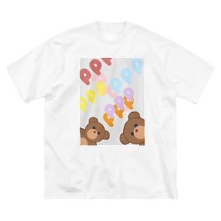 aegis Big silhouette T-shirts