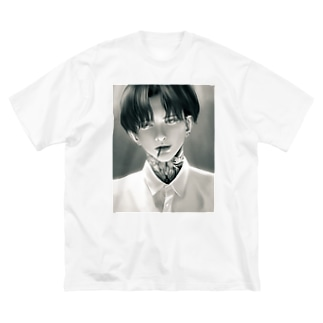 美青年 Big silhouette T-shirts