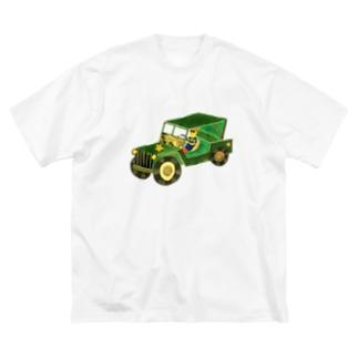 ドライブ Big silhouette T-shirts