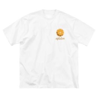 アプレールロゴマーク(カラー) Big silhouette T-shirts