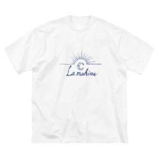 ラマヒナ Big silhouette T-shirts