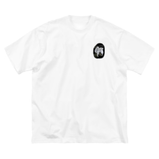 A アルパカ Big silhouette T-shirts