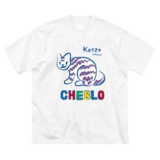 Katze Big silhouette T-shirts
