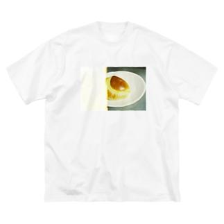 クリームパンたべたい Big silhouette T-shirts