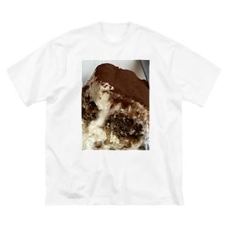 神戸英雄斗のティラMs.食べたい Big silhouette T-shirts