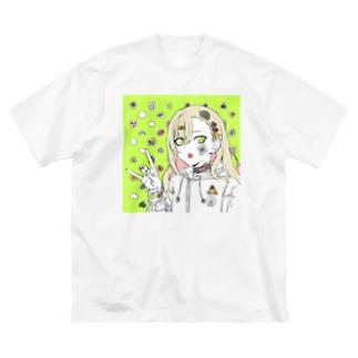 お揃いまたんごむちゃん Big silhouette T-shirts