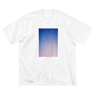 たにたにのやうやう Big silhouette T-shirts