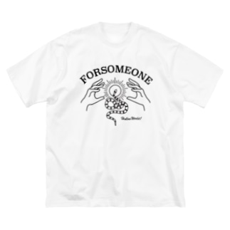 SNAKE&HANDS Big silhouette T-shirts