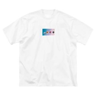 はな Big silhouette T-shirts