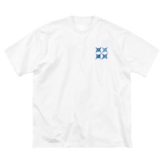 横浜優勝 小 2×2 Big silhouette T-shirts