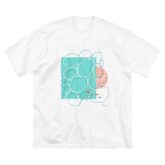 6時の海 Big silhouette T-shirts