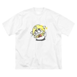 もち吉(仮)のキラりなグッズ Big Silhouette T-Shirt