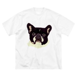 RIKU Big silhouette T-shirts