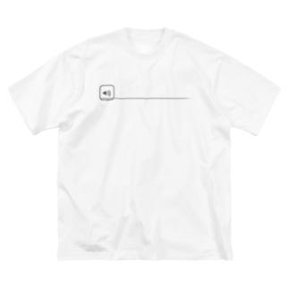 大音量 Big silhouette T-shirts