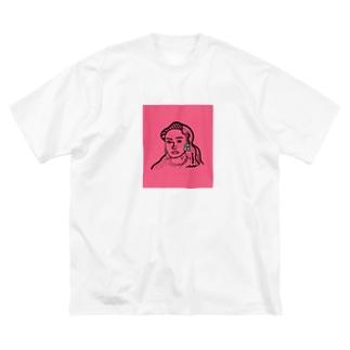 架空人物:Jasmine Big silhouette T-shirts