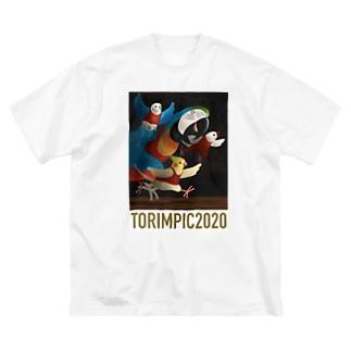 TORIMPIC2020 Big silhouette T-shirts