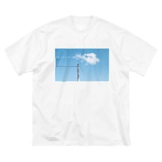 ファインダー越しの世界 Big silhouette T-shirts