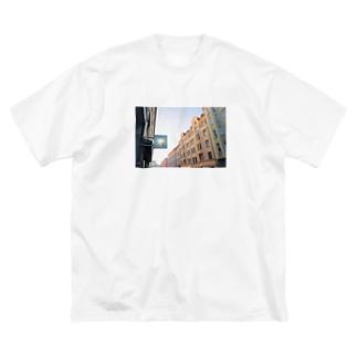 フィンランド の思い出 Big silhouette T-shirts