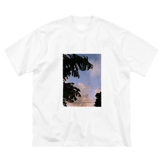 summer Big silhouette T-shirts