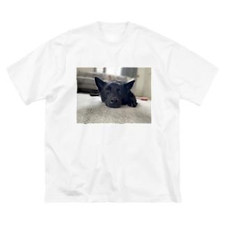 MADOROMUGI Big silhouette T-shirts