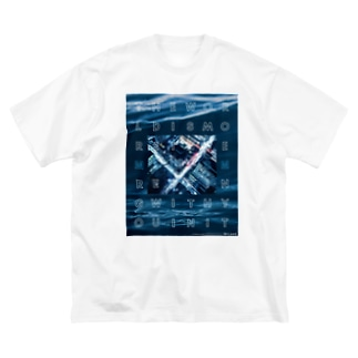 MIXISM -other side 2- Big silhouette T-shirts