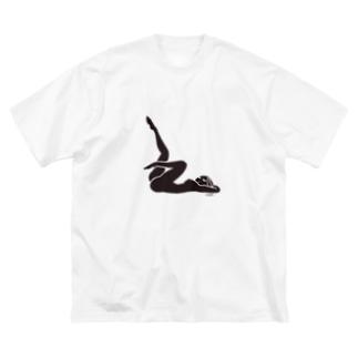 girlfriend series01 Big silhouette T-shirts