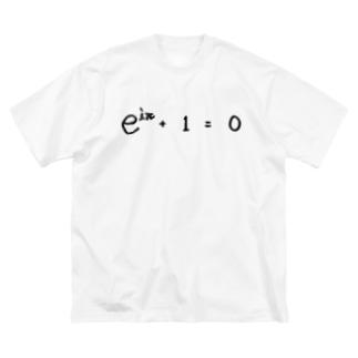 オイラーの等式。 Big silhouette T-shirts