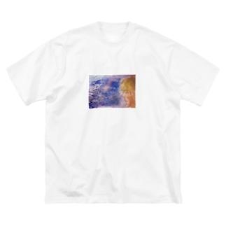 うみのおんなのこ Big silhouette T-shirts