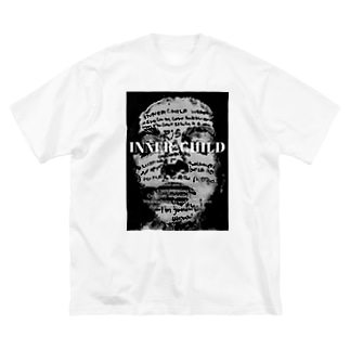 INNER-CHILD Big silhouette T-shirts