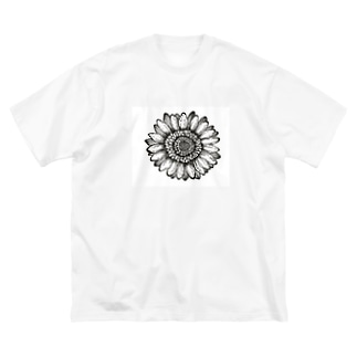 Flower Big silhouette T-shirts