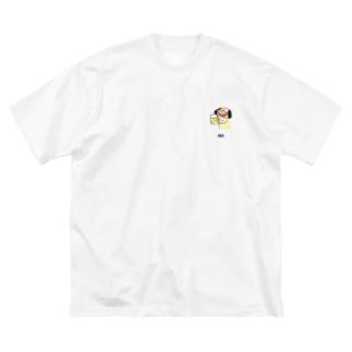 酒が旨いナンディーくん Big silhouette T-shirts