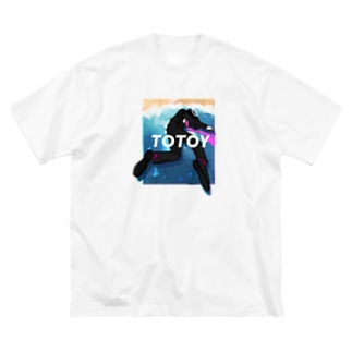TOTOY Big silhouette T-shirts