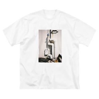 seimeiryokuの配管フェチ。 Big silhouette T-shirts