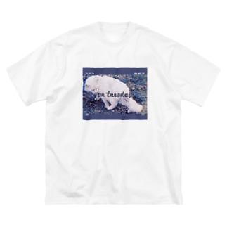 Cat T Big silhouette T-shirts