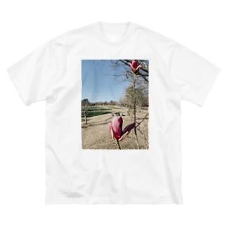 tsubomi Big silhouette T-shirts
