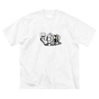Cub Electrics (Colored) Big silhouette T-shirts