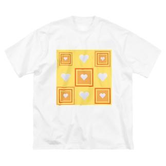 金運アップ‼(廻) Big silhouette T-shirts