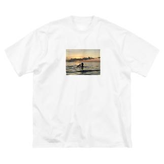 Carribean Big silhouette T-shirts
